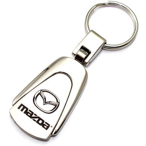 Nissan Logo Chrome Metal Tear Drop Auto Key Chain Au-Tomotive Gold INC