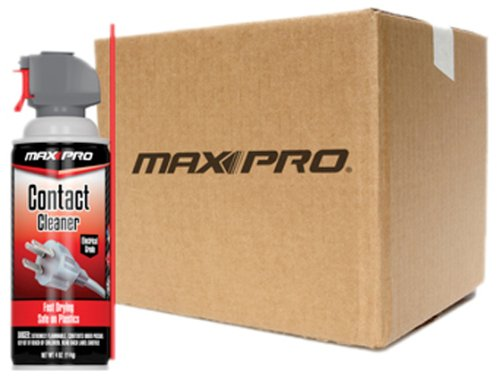 Max-Pro MC-002-053-12PK Mini Contact Cleaner - 4 oz., (Pack of 12) by Max-Pro