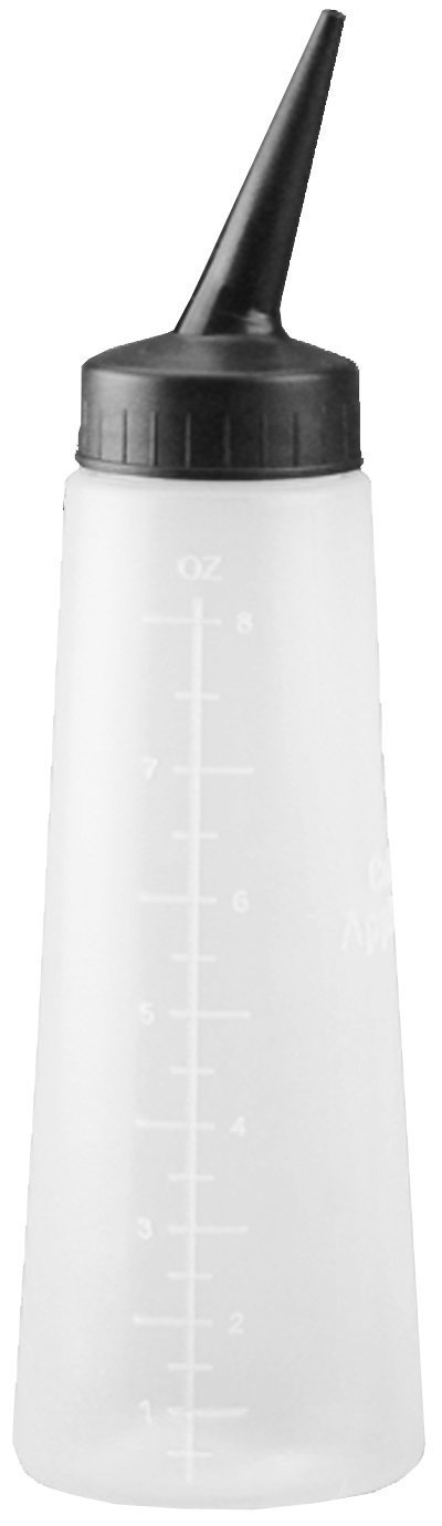 Tolco Empty Applicator Bottle with Slant Tip 8 oz. - 6 pieces by Tolco