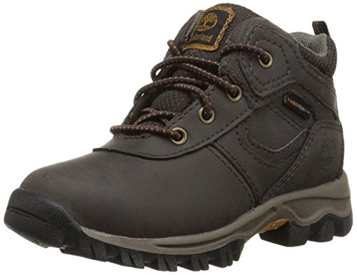 Timberland MT Maddsen Mid Waterproof Chukka Mid, Dark Brown, 10.5 M US Little Kid ()