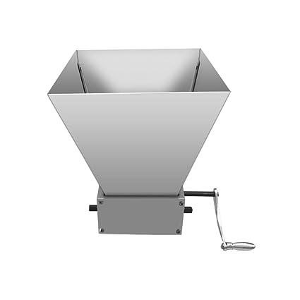 Amazon com: Home Brewing Malt Grain mills Grain Crusher Hand Crank