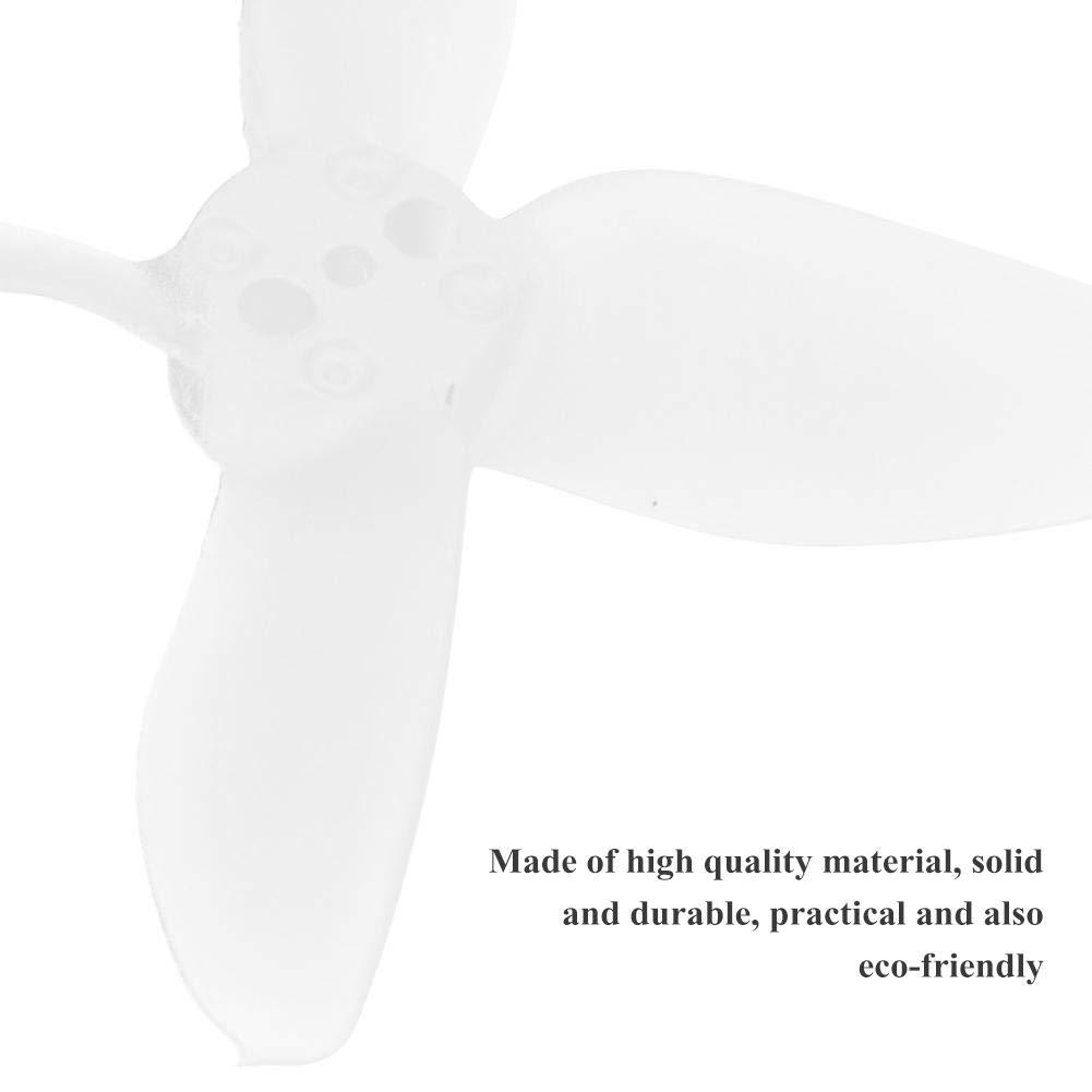 3 Colores 2 Pulgadas/ABS Emax Avan Micro RC Drone H/élices de 4 Palas/para Babyhawk Azul Transparente