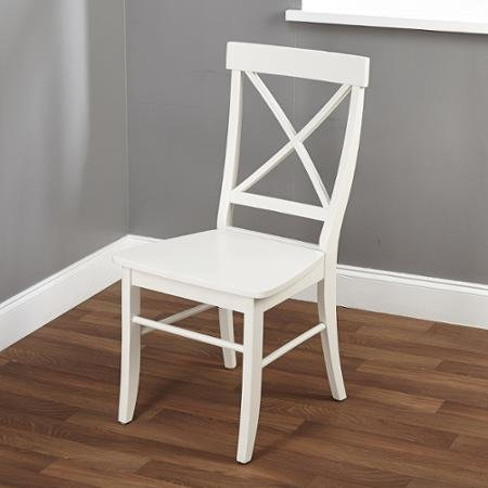 Easton Crossback Chair, Multiple Colors Antique White (Antique White Chairs)