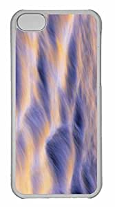 iPhone 5C Case, Personalized Custom Water Ripple for iPhone 5C PC Clear Case
