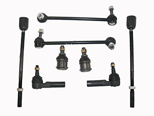 Lower Ball Joints Inner Tie Rod Ends Outer Tie Rod Ends Sway Bar Link Kits
