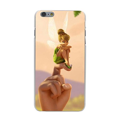 Disney Tinkerbell Schutzhülle Appel Iphone Serie transparent Case Appel Iphone 5C Comic Cartoon Hülle -AcAccessoires #0005-07 (Iphone 5C)