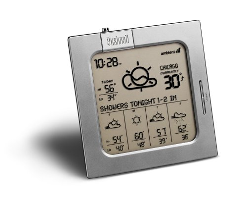 Bushnell 950005 WeatherFX 5 Day Weather Forecaster (Discontinued by Manufacturer)