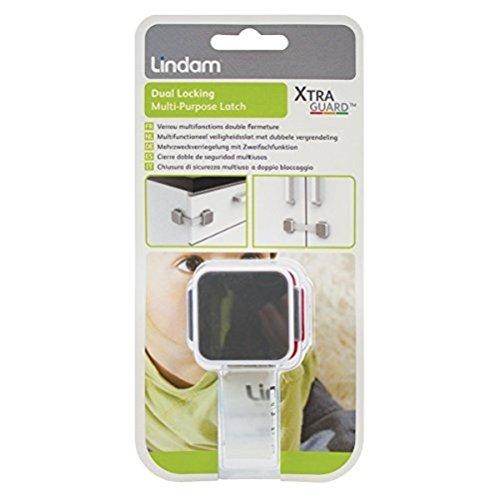 Lindam Xtra Guard - Cierre doble de seguridad multiuso. Protección y bloqueo: Amazon.es: Bebé