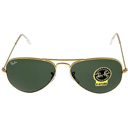 Unisex Sunglasses Gold 80 Ray off Ban W3234 Aviator Rb3025 2YH9IWED
