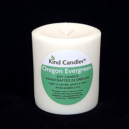 Kind Candles Oregon Evergreen 3-1/2