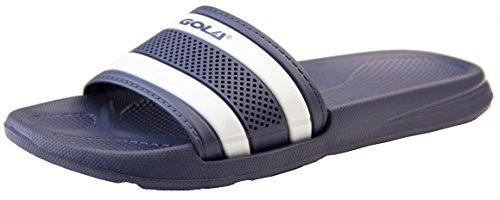 Gola Womens Navy and White Sliders UK 5