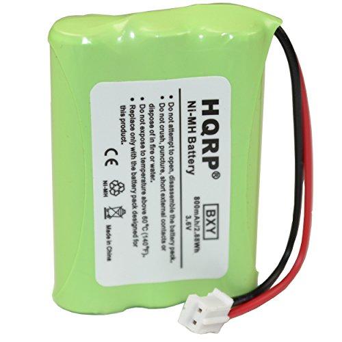 HQRP Battery for MOTOROLA MBP18 MBP18PU MBP25 MBP25PU MBP26 MBP26PU MBP33 MBP33PU MBP34 MBP34PU MBP36 MBP36PU MBP43 MBP43PU Digital Baby Monitor TFL3X44AAA900 CB94-01A Parent Unit DESAY + - Replacement Battery Mah 800