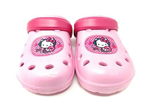 Pink Carcassi Enfant Mixte Mules Light Kitty Hello qPpwB4fqv