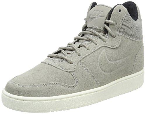 Nike Nike black cobblestone sail Baskets cobblestone Premium Homme Mid Gris Court Borough fnxrqZfwS