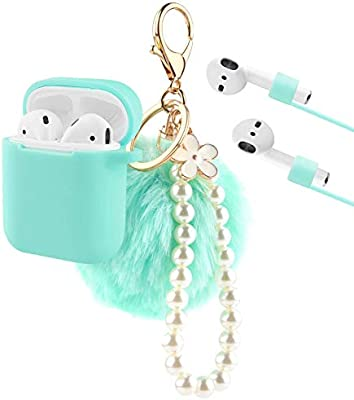 Amazon.com: KMMIN AirPods - Funda protectora para Apple Air ...