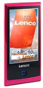 Lenco Xemio-955 - Reproductor MP3 (Reproductor de MP4, Repetir, Rosa, Digital, Flash-media, 4 GB)