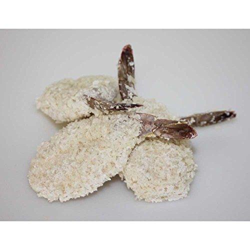 Frozen Seafood Clean Tail Breaded Butterfly Shrimp, 3 Pound -- 4 per (Shrimp Appetizer)