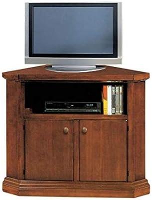 Relax e Design - Mueble esquinero para TV de Madera, Arte pobre, Color Nogal Oscuro: Amazon.es: Hogar