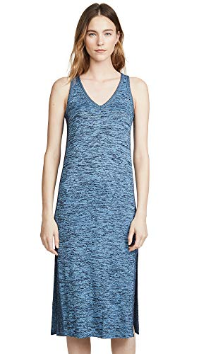 Rag & Bone/JEAN Women's Ramona Tank Dress, Blue Multi, - Clothes Bone And Rag