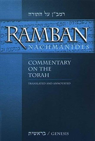 Ramban (Nachmanides): Commentary on the Torah (5 Vol. Set) Charles B. Chavel