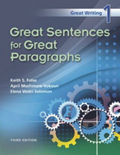 Great Writing 1:Great Sentences...