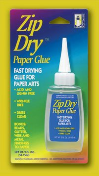 Zip Dry Paper Glue *Fast Drying* Acid & Lignin Free!