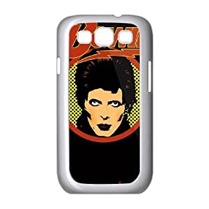 Samsung Galaxy S3 9300 Cell Phone Case White David Bowie wepj