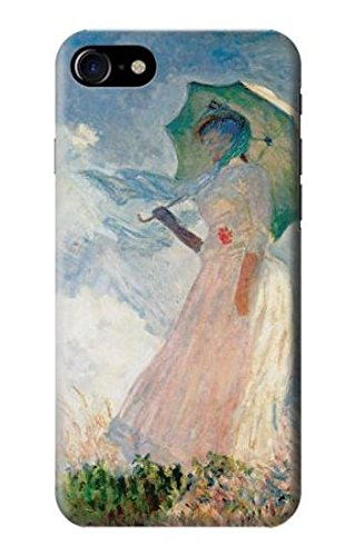 R0998 Claude Monet Woman with a Parasol Case Cover For IPHONE 7 ()