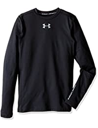 Under Armour Boys ColdGear Armour Compression Crew