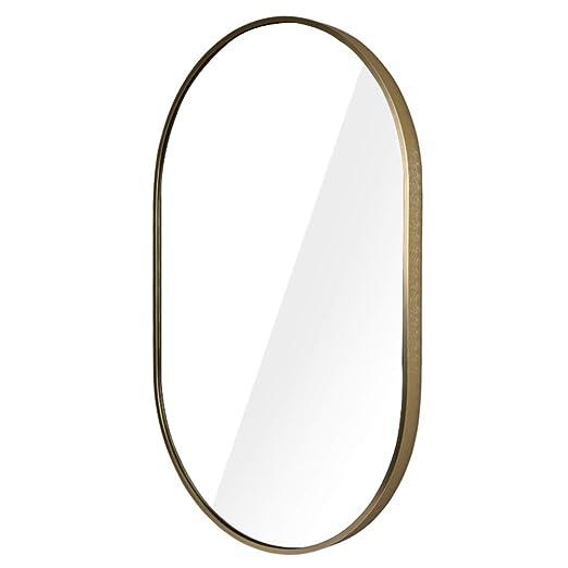 Espejo de baño Largo, Espejo de tocador para el hogar Espejo ...