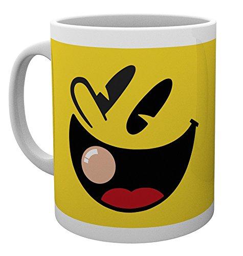 Face Man Pac (10oz Pacman Face Mug)