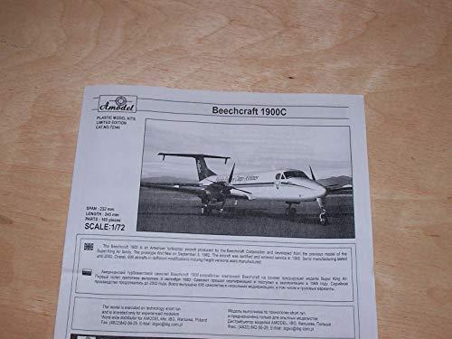 Amodel 72346-1/72 Beechcraft 1900C 'Falcon Express Cargo Airlines', Model kit 6
