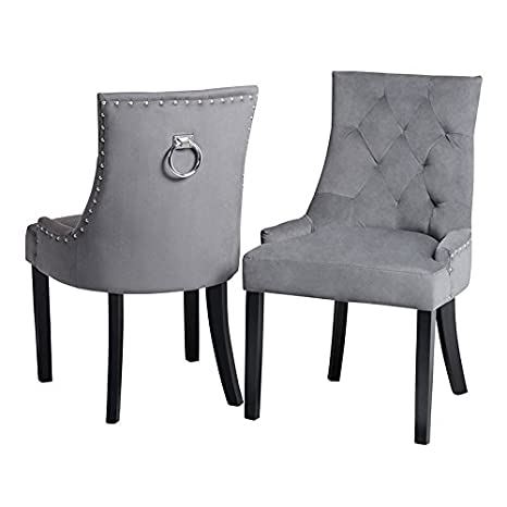 My-Furniture - Torino - Silla de Comedor con tapizado de Alta ...