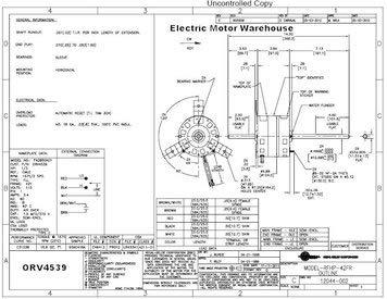D1092 Fasco Fan Motor Wiring Diagram. . Wiring Diagram on