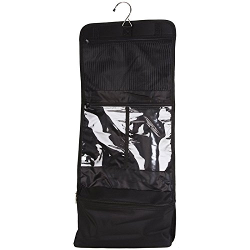 Black Canvas Cosmetic Makeup Hanging