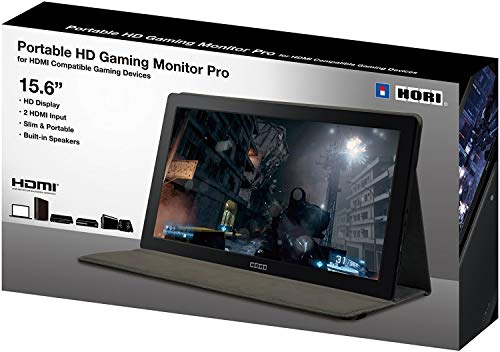 HORI Universal HD Gaming Monitor - PlayStation 4 (Best Portable Monitor For Ps4)