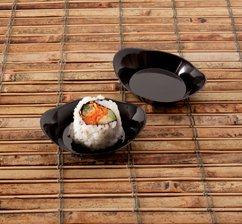 EMI Yoshi Koyal Relish Dish, 2.5-Inch, Black, Set of 200