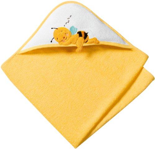 Baby Butt Frottier-Set 2-tlg. Frottee gelb Größe 100x100 cm + 15x21 cm