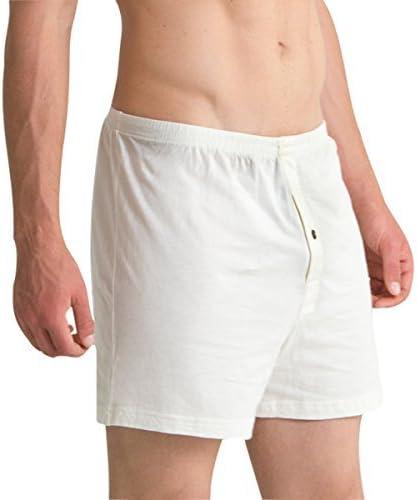 Cottonique Men/'s Elasticized Loose Boxer Shorts 100/% Organic Cotton