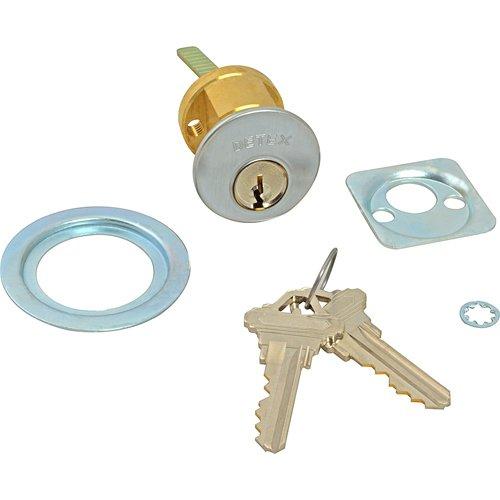DETEX CORPORATION Emergency Exit Alarm Control Cylinder Lock with Keys ECL445K