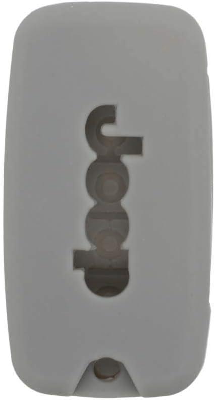 Carcasa Protectora de Silicona para Jeep Renegade 4 Botones con Mando a Distancia BROVACS