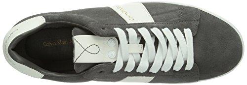 Grigio Smoke Smk Calvin Hal Jeans Grau da Klein Sneakers uomo 7S4qw7