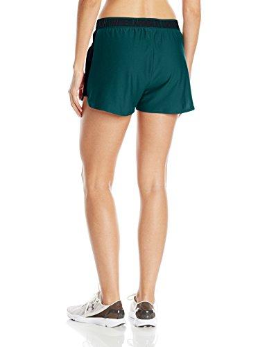 Under Armour Play Up Short 2.0 Pantalones Cortos Deportivos, Mujer Arden Green/Black