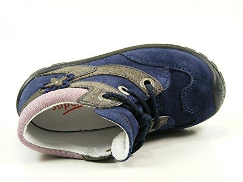 26 EU Superfit Grau Kombi Blau EU Fille EU Chaussures Marche Bébé Softtippo Stone 06 EU 19 24 20 21 23 25 22 BBUHqF