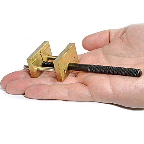 - Brass Mini Vise, 1-1/2 Inch Capacity