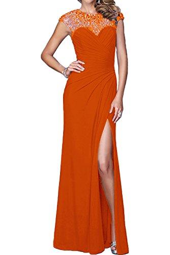 Topkleider - Vestido - trapecio - para mujer naranja