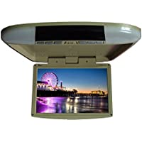Tview T1588IR-TN Car Flip Down Monitor-Set of (Tan)
