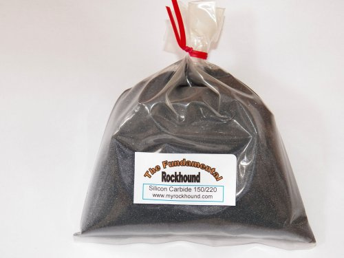 Fundamental Rockhound Products: 2 lb 150/220 Medium GRIT for rock tumbling polishing Silicon Carbide