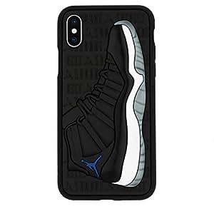 Amazon.com: iPhone Xs Max Case, Jordan 11s 3D Textured