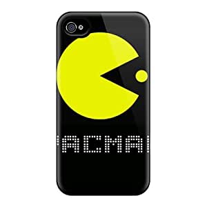 Slim Fit Tpu Protector Shock Absorbent Bumper Pacman Case For Iphone 4/4s